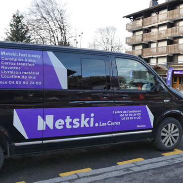 transfert-les-carroz-netski Location de skis - Les Carroz - Location VTT - MTB and ski Rental